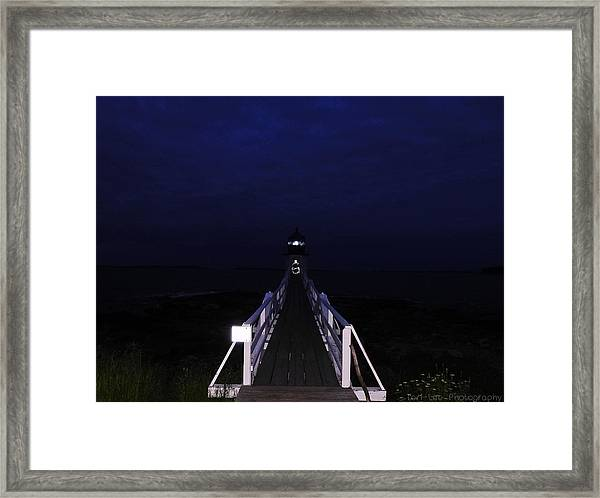 Light In Darkness Framed Print