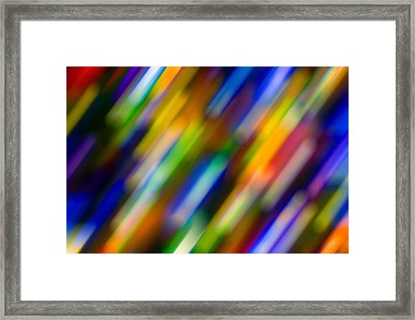 Light In Motion Framed Print
