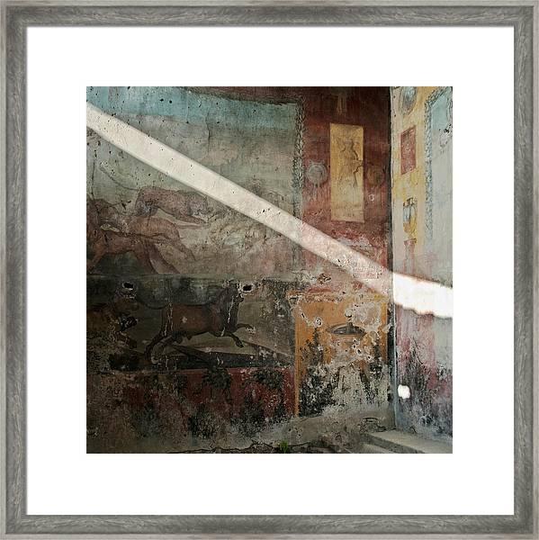 Light On The Past Framed Print