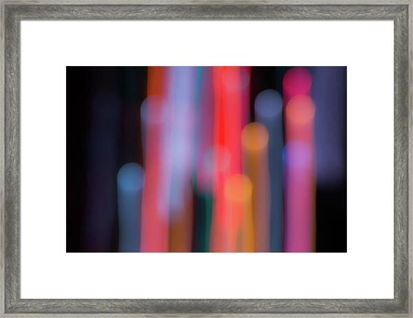 Light Painting No. 3 Framed Print