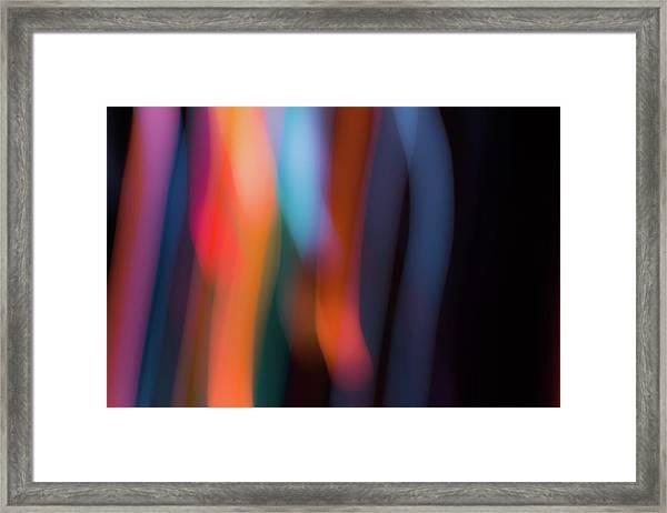 Sky And Prism Framed Print