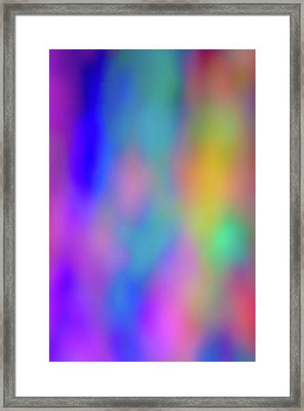 Light Painting No. 6 Framed Print