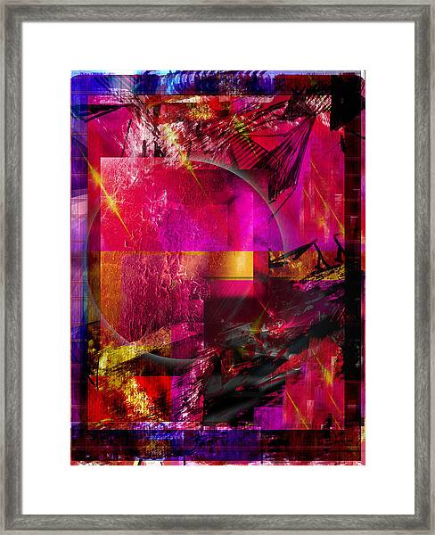 Light Particles Framed Print