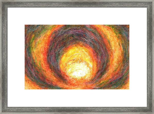 Light Picture 219 Framed Print