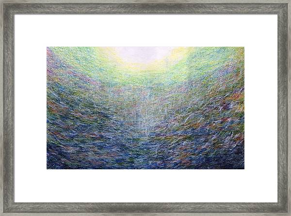 Light Picture 222 Framed Print