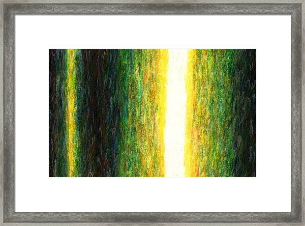 Light Picture 233 Framed Print