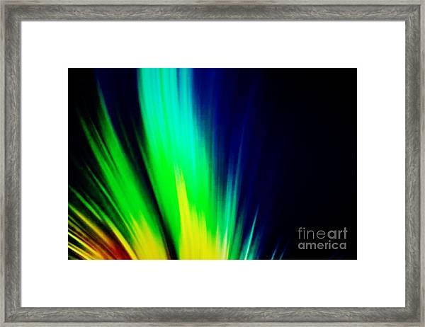 Lightburst Framed Print