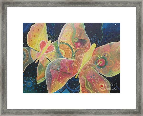 Lighthearted Framed Print