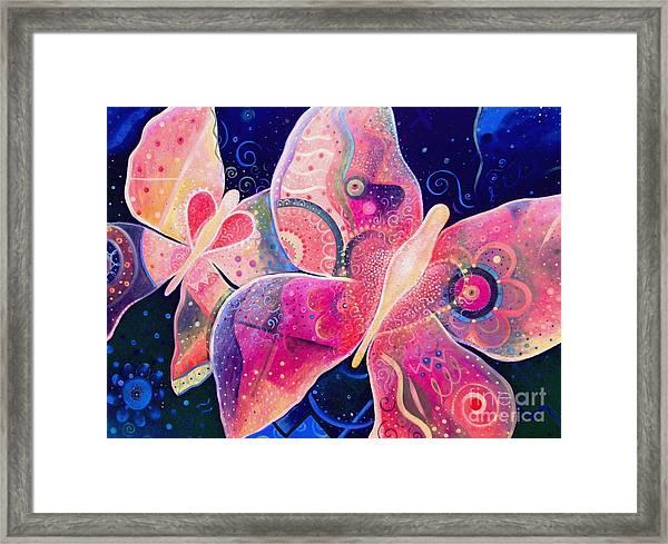 Lighthearted In Full Spectrum Framed Print