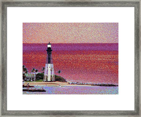 Lighthouse 1014 Framed Print
