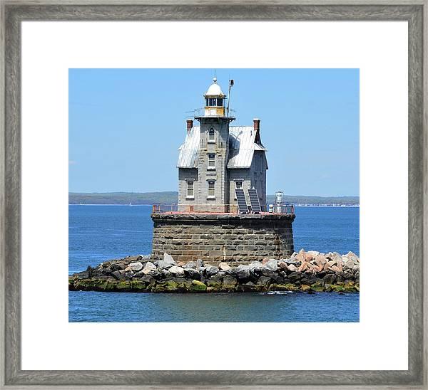 Lighthouse 2-c Framed Print