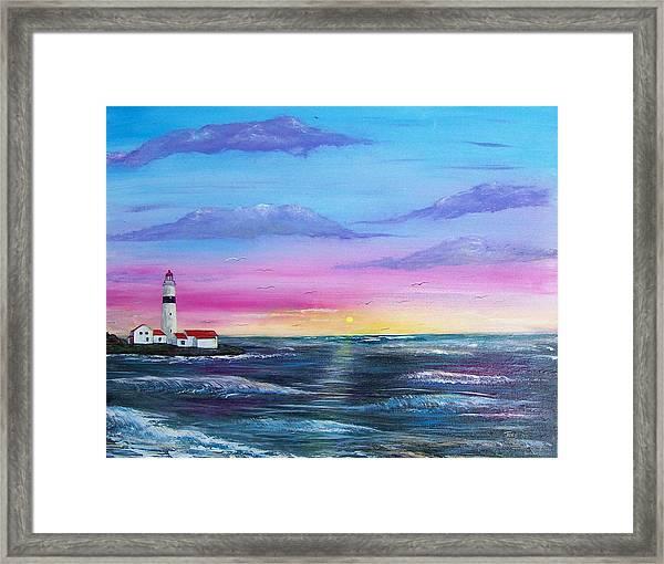 Lighthouse  5 Framed Print