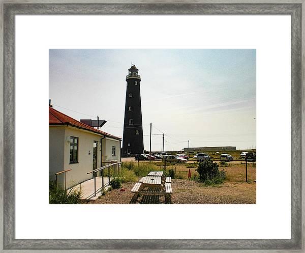 Lighthouse, Dungeness, Kent Framed Print