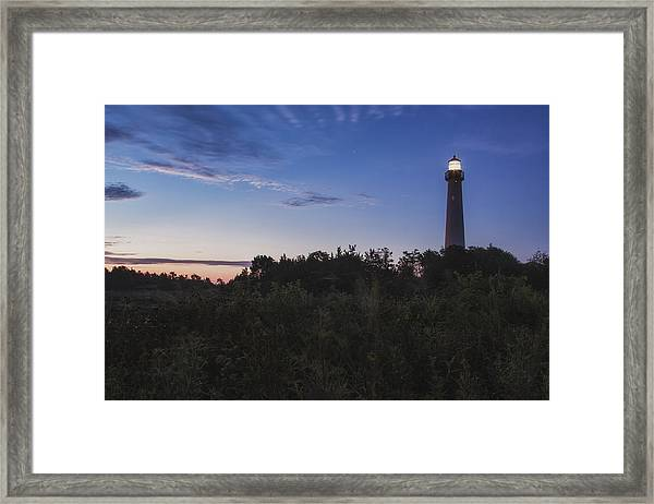 Lighthouse Summer Sunrise Framed Print