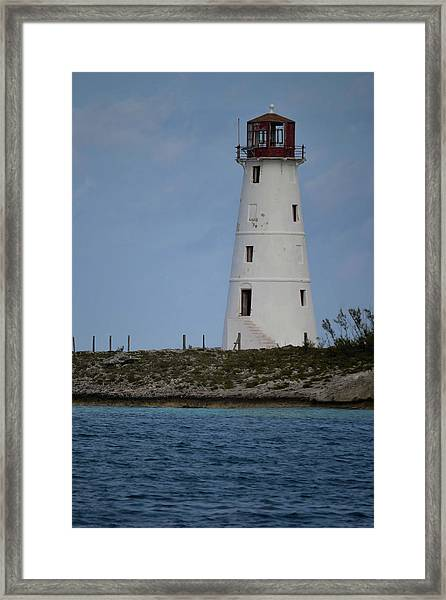 Lighthouse Watch Framed Print