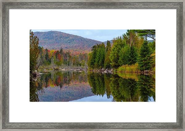 Like A Mirror Framed Print