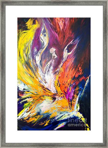 Like Fire In The Wind Framed Print