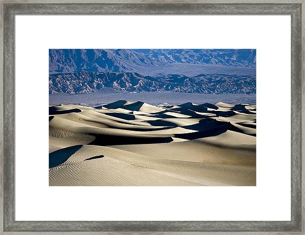 Like The Sea Framed Print