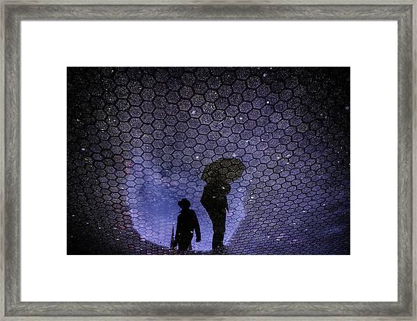 Like Tunel Framed Print