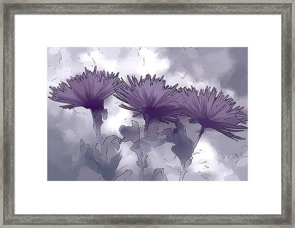 Lilac Fancy Framed Print
