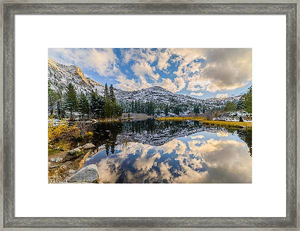 Lily Lake Framed Print
