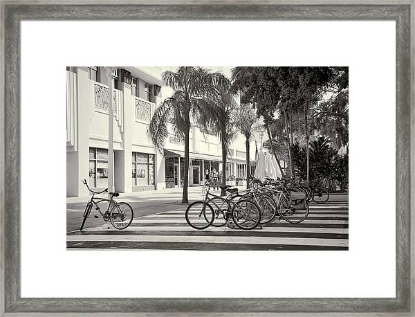 Lincoln Road Framed Print