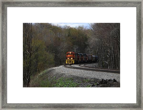 Lindholm Train Framed Print