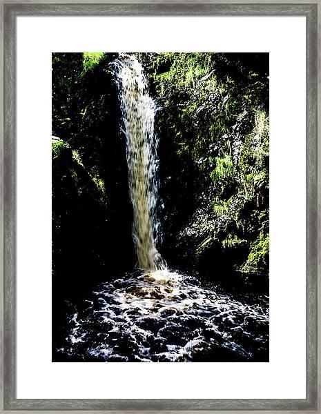Linhope Spout Waterfall Framed Print