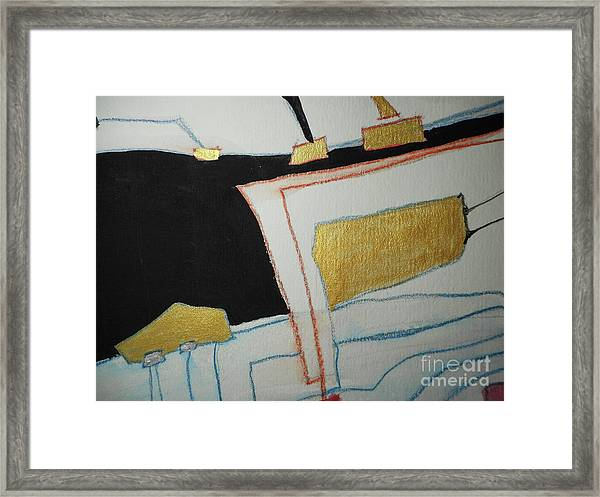 Linear-2 Framed Print