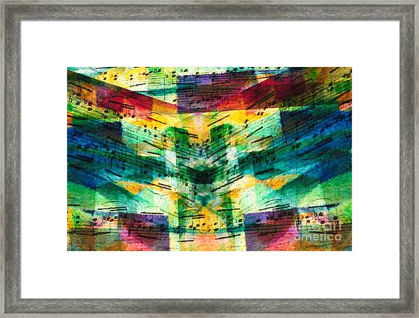 Lines And Spaces Framed Print