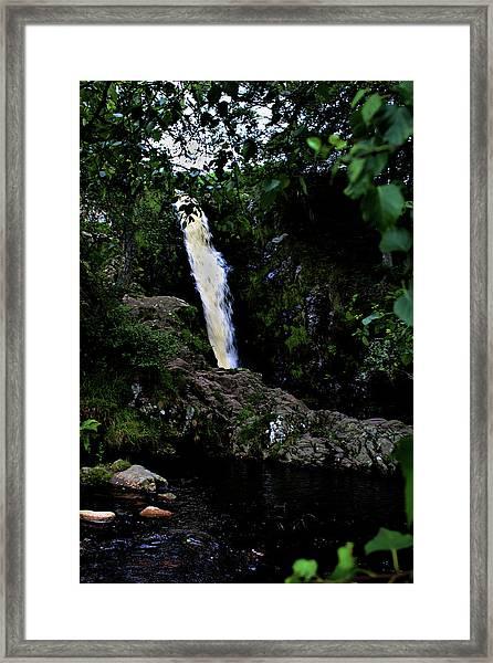 Linhope Spout Framed Print