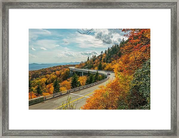 Linn Cove Viaduct Framed Print