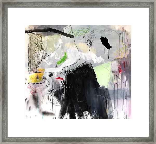L'insaisissable-2 Framed Print
