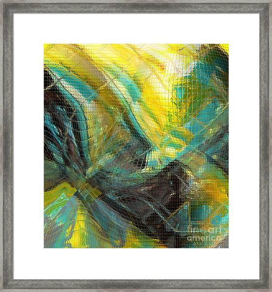 Liquid Oxygen 2 Framed Print