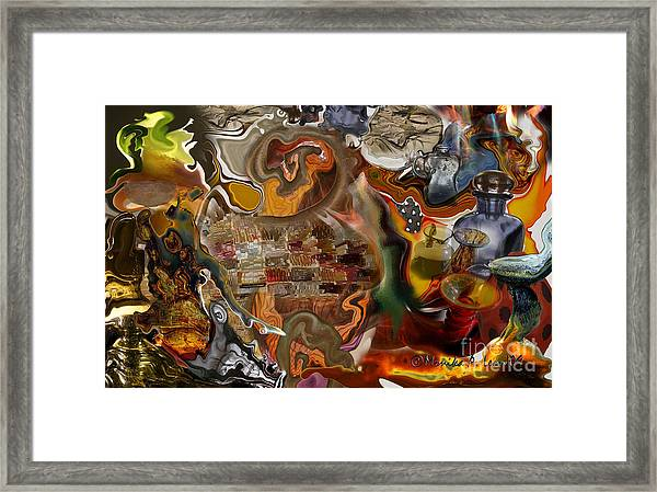 Liquified Framed Print
