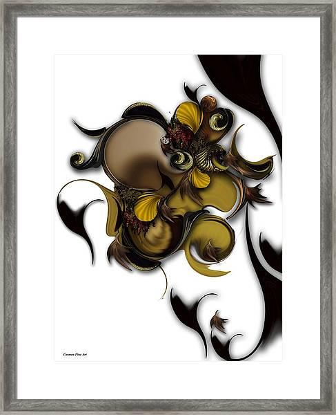 Literature Of Life - Vegetable Framed Print