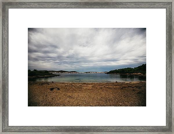 Little Beach Framed Print