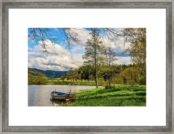 Little Boat Framed Print