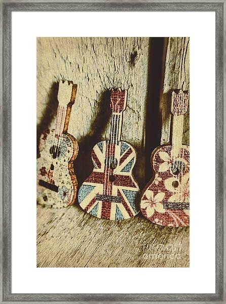 Little Britain, Big Sounds Framed Print