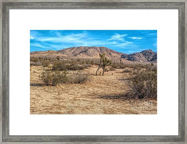 Little Butte Framed Print