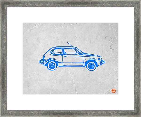 Little Car Framed Print