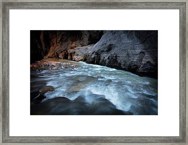 Little Creek Framed Print
