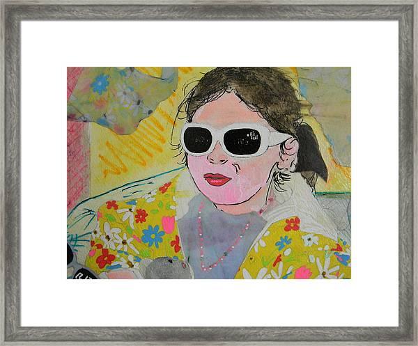 Little Diva  Framed Print