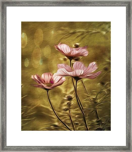 Little Flowers Framed Print