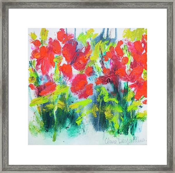 Little Garden 01 Framed Print