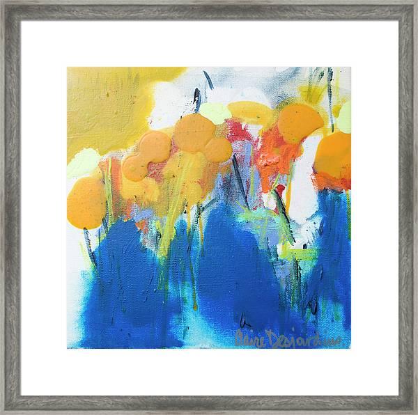 Little Garden 02 Framed Print