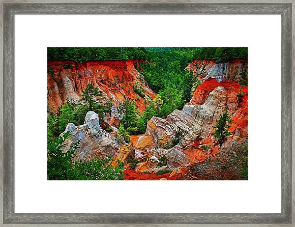 Little Grand Canyon Framed Print