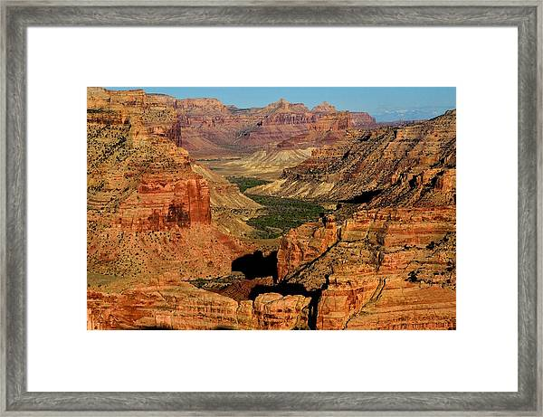 Little Grand Canyon Sunrise Framed Print