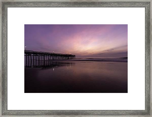 Little Island Sunrise Framed Print