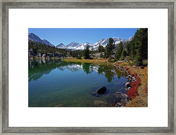 Little Lakes Valley 4 Framed Print